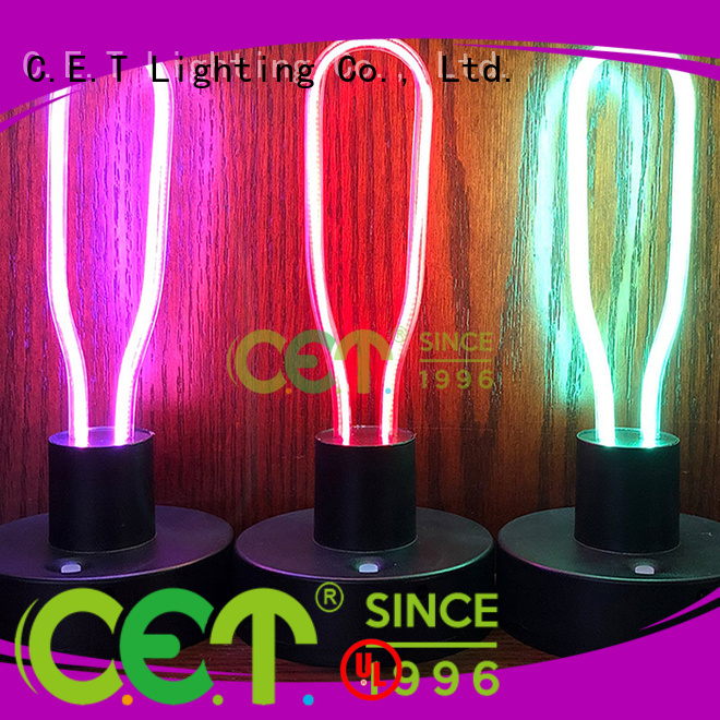C.ET edison table lamp from China