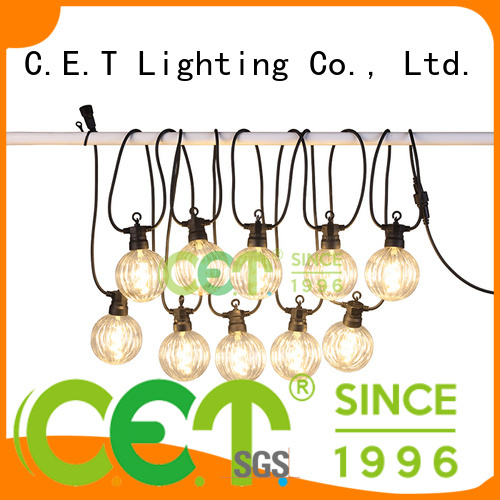 C.ET patio string lights customization for backyard party