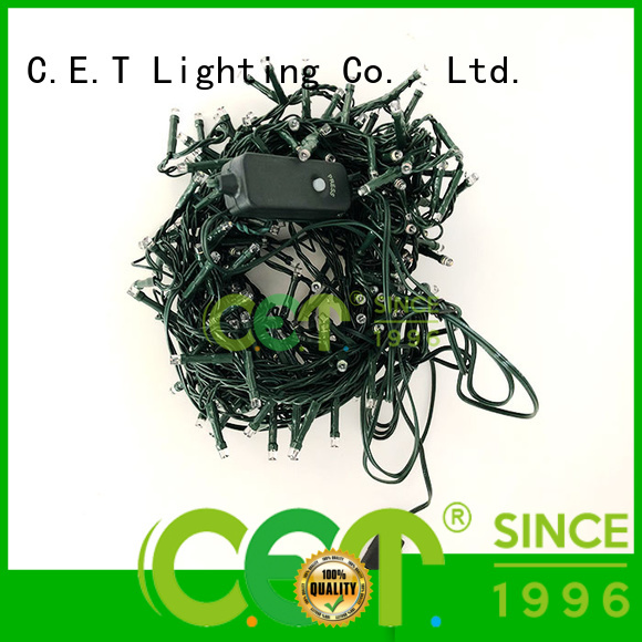 C.ET warm USB Christmas light from China for decoration