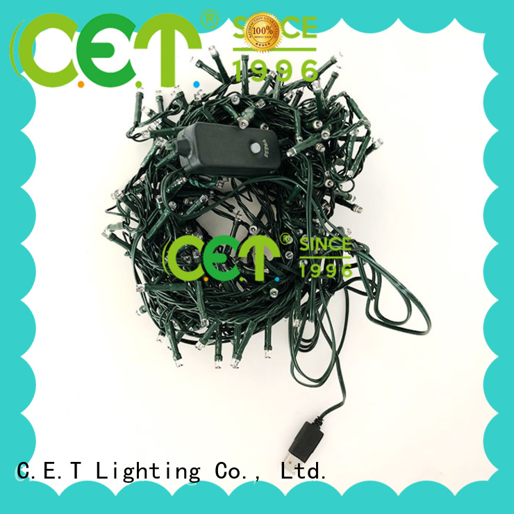 C.ET USB Christmas light from China for party