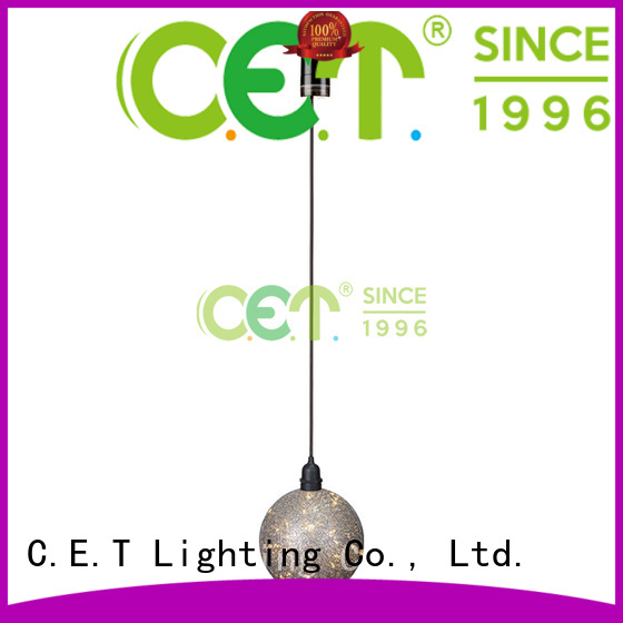 C.ET waterproof edison pendant light factory price for night party
