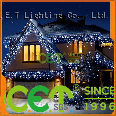 C.ET string Christmas light decoration for Christmas