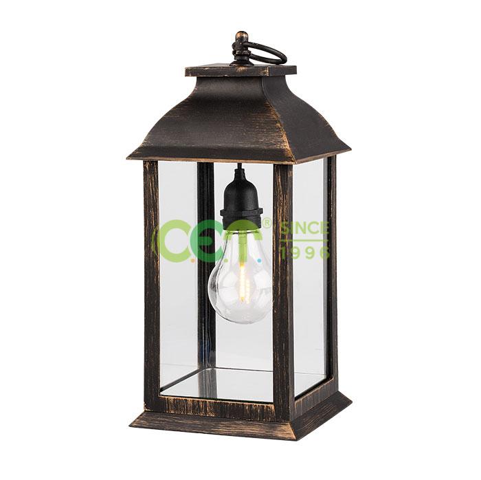 Copper/Silver Lantern