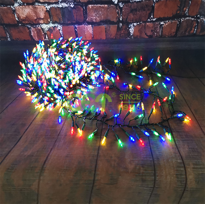 Christmas Retro Cluster Light