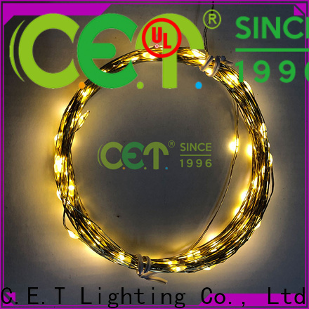 C.ET copper wire led string lights reputable manufacturer for romantic decoration