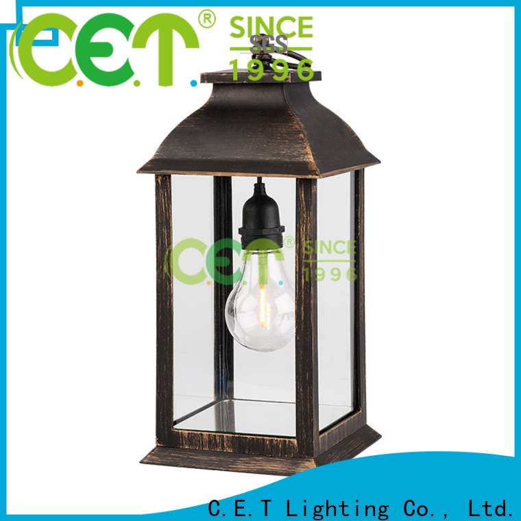 C.ET good selling patio table lanterns from China