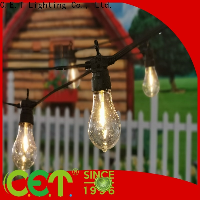 C.ET patio string lights buy now for party