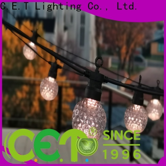C.ET good selling patio string lights for party