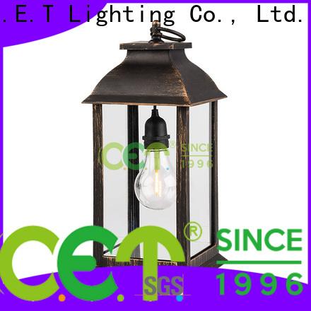 C.ET premium quality silver lantern customized for home decoration