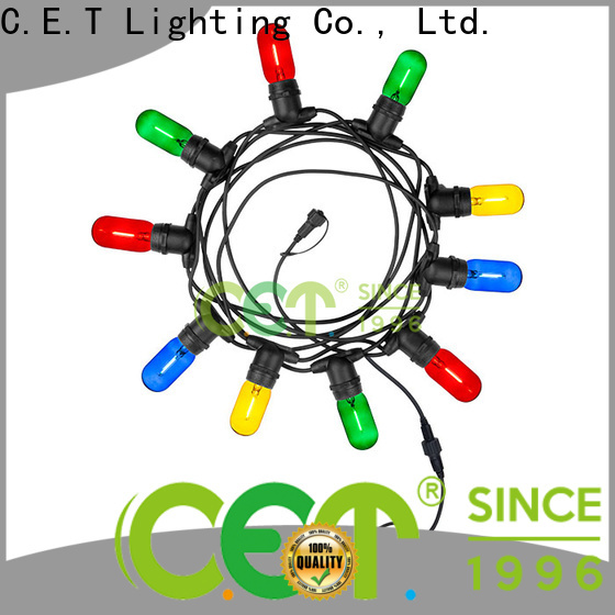 C.ET hot sale patio string lights customization for backyard party