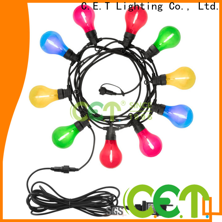 premium quality patio string lights for garden party