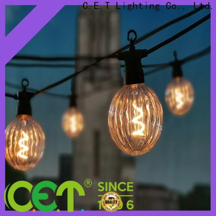 C.ET hot sale patio string lights for backyard party