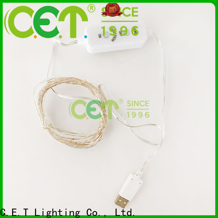 led copper string lights factory price for outdoor party