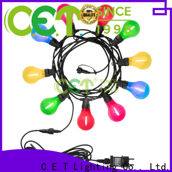 C.ET good selling party patio light for backyard party