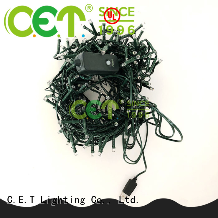 C.ET portable USB string lights from China for Christmas