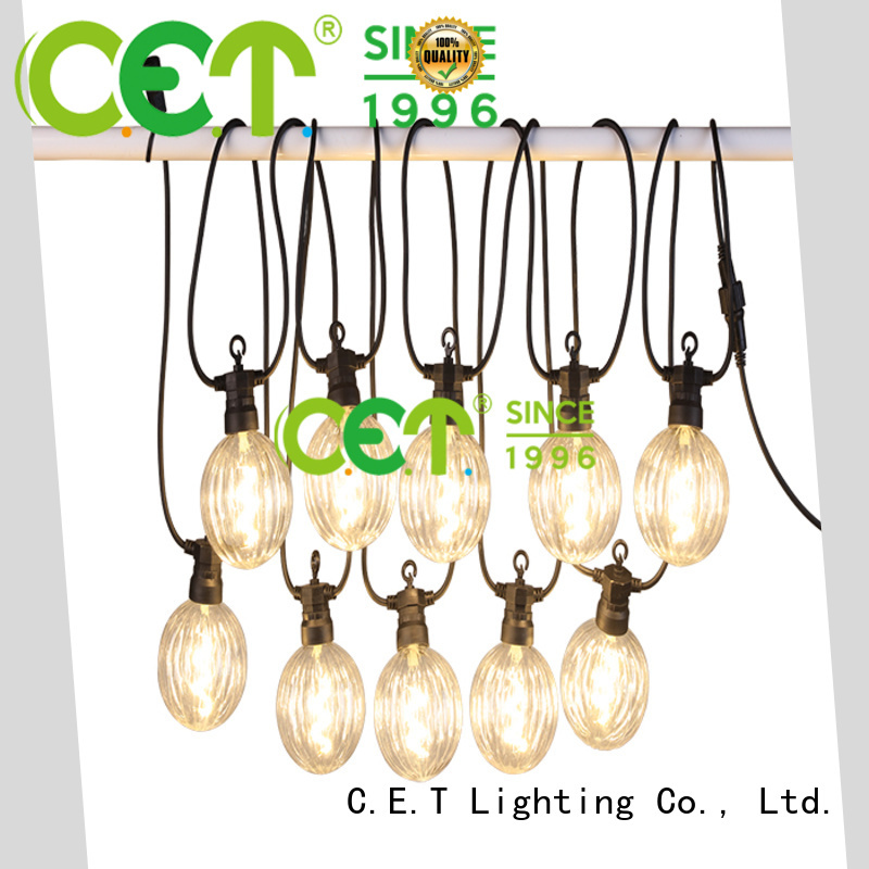 C.ET good selling patio string lights for garden party