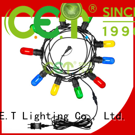 C.ET premium quality party patio light customization for backyard party