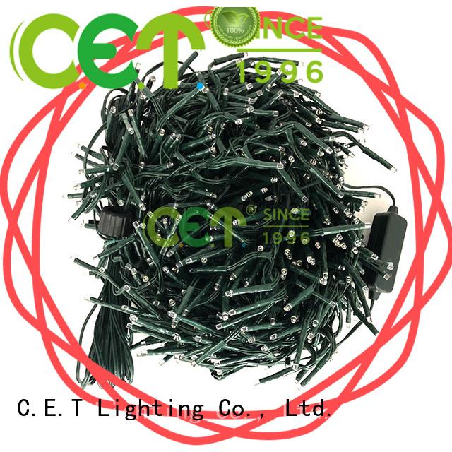 C.ET string Christmas light wholesale for decoration