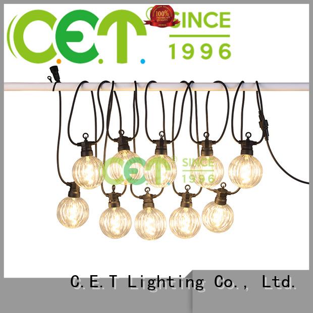 C.ET hot sale party patio light manufacturer for garden party