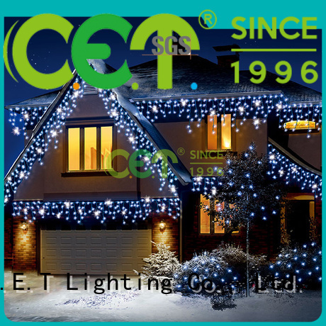 C.ET indoor icicle lights decoration for Christmas