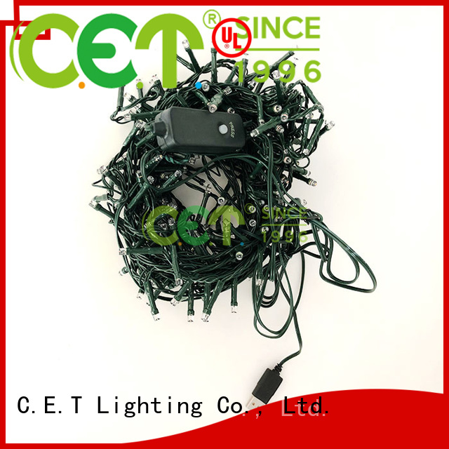 C.ET convenience USB string lights from China for decoration