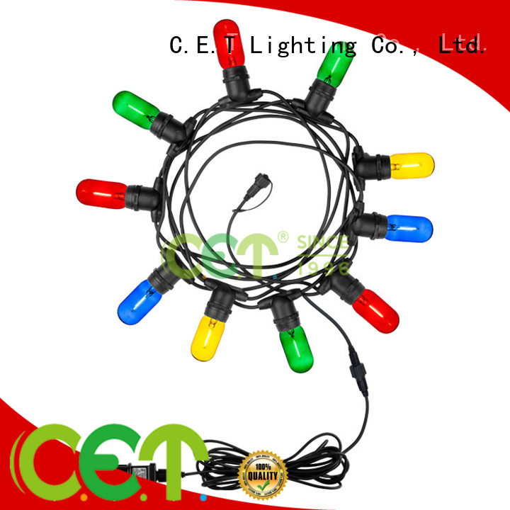 C.ET good selling patio string lights buy now for garden party