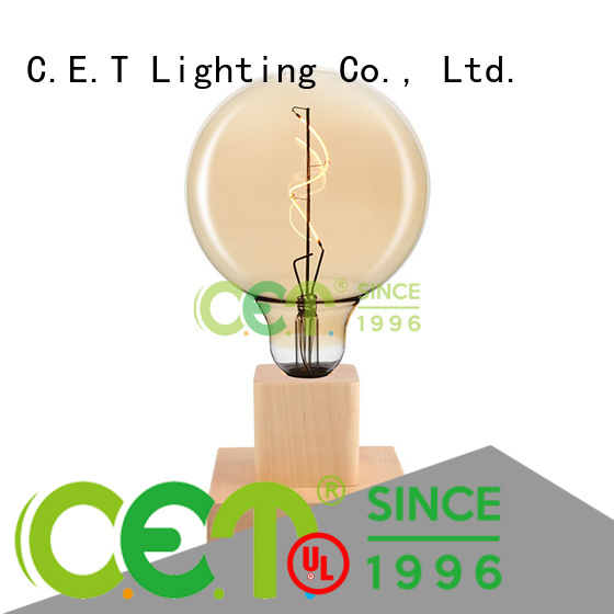 C.ET good selling edison table lamp customized for home decoration