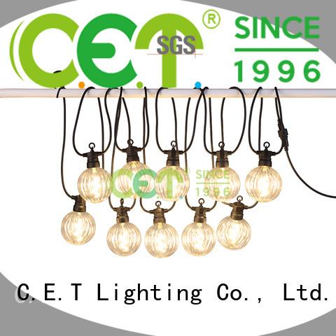 C.ET premium quality party patio light customization for garden party