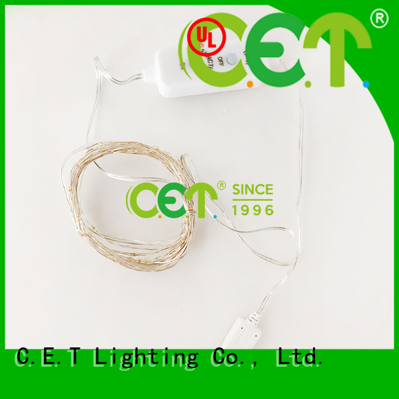 C.ET led wire lights factory price for bedroom