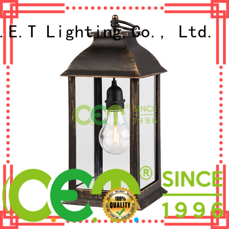 C.ET hot sale patio table lamps customized for home decoration