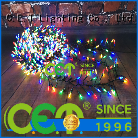 C.ET durable Christmas string lights for decoration