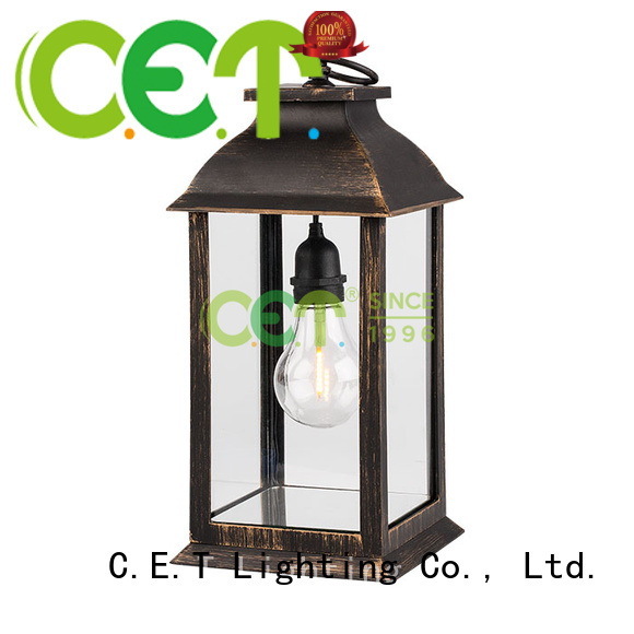 C.ET hot sale edison table lamp from China for home decoration