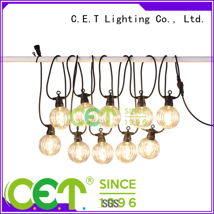 good selling patio string lights customization for party