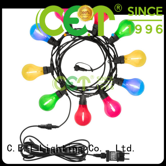 C.ET patio string lights for garden party
