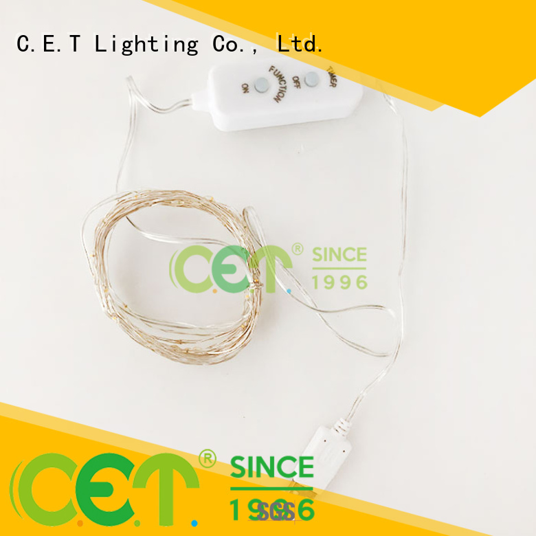 C.ET durable copper wire led fairy lights order now for outdoor party