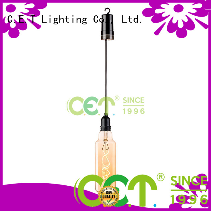 C.ET edison pendant light factory price for bar