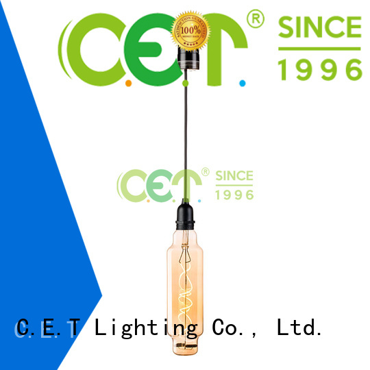 C.ET waterproof edison pendant light supplier for night party