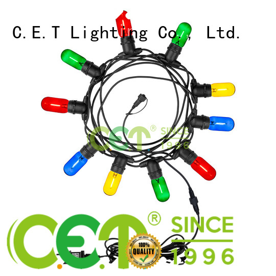 good selling patio string lights customization for garden party