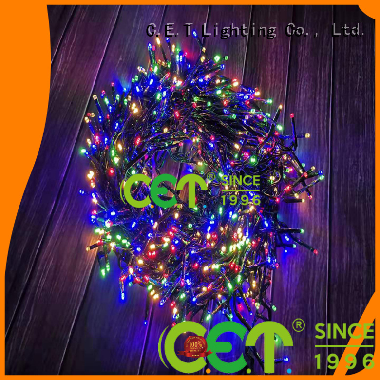 C.ET led twinkle cluster lights reputable manufacturer for decoration