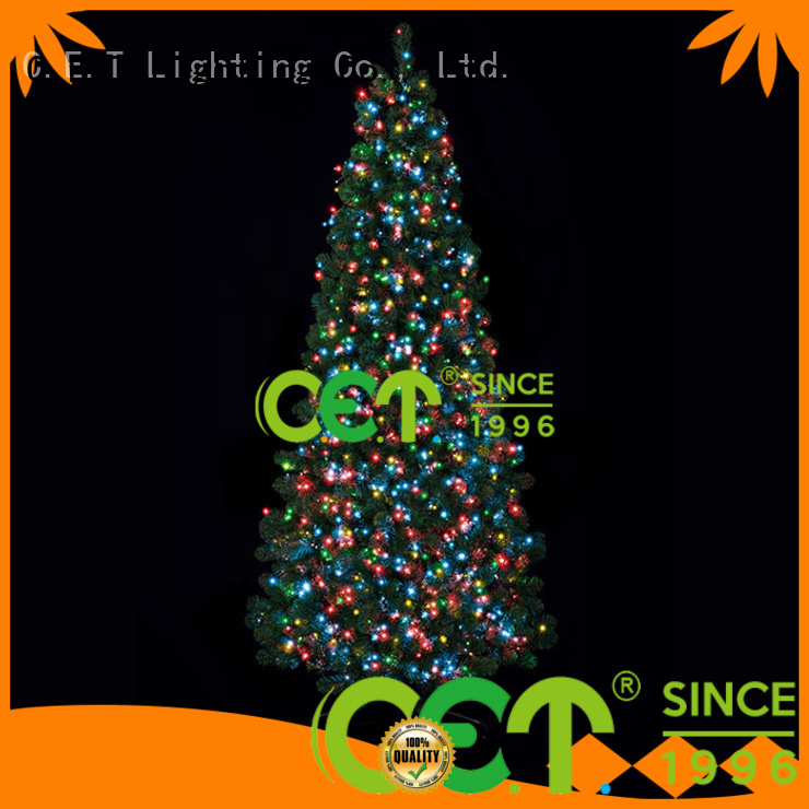 C.ET white string Christmas lights decoration for party