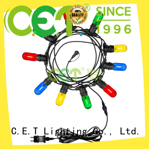 hot sale patio string lights customization for party