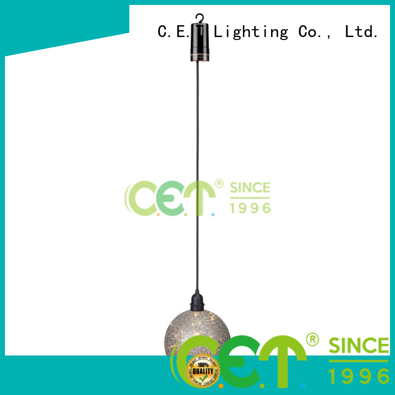 C.ET outdoor edison pendant light factory price for night party