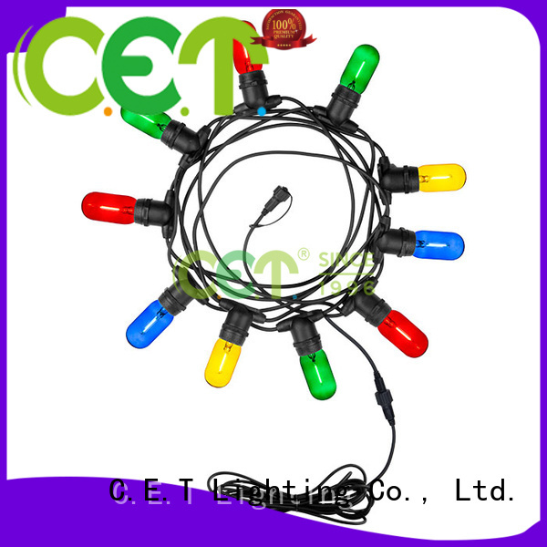 C.ET good selling party patio light customization for garden party