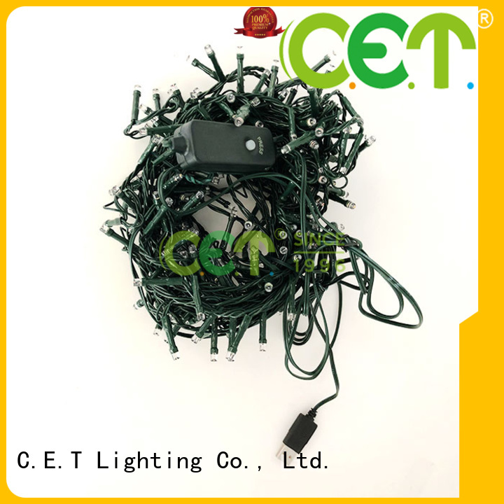 C.ET portable USB Christmas light reputable manufacturer for Christmas