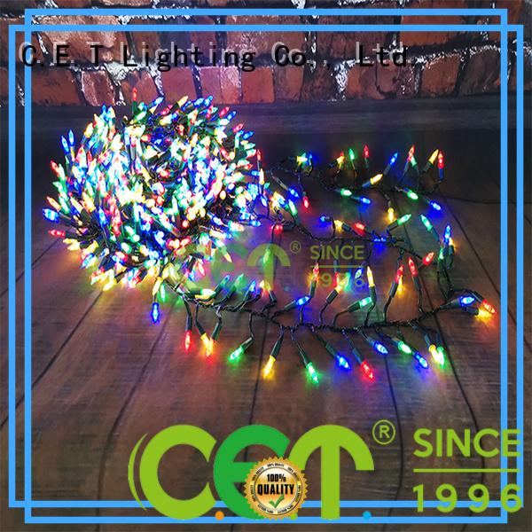 C.ET retro Christmas light wholesale for party