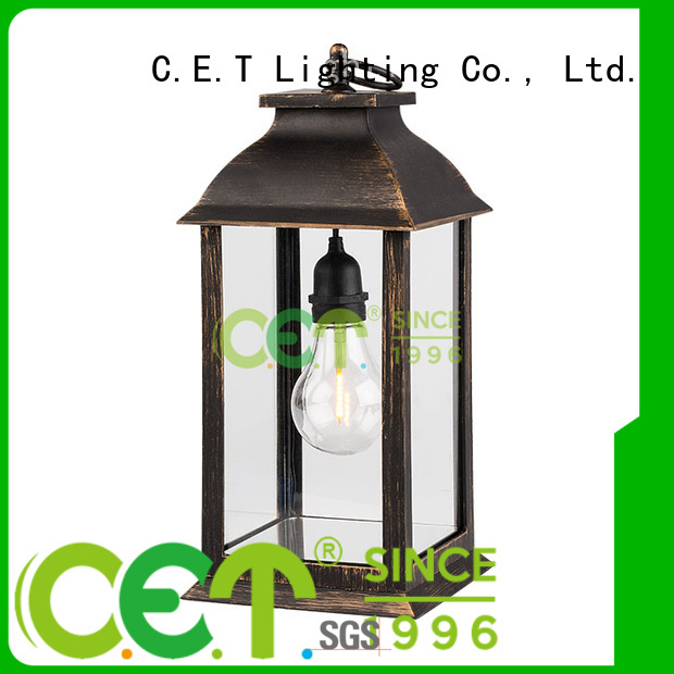 C.ET edison table lamp from China for home decoration