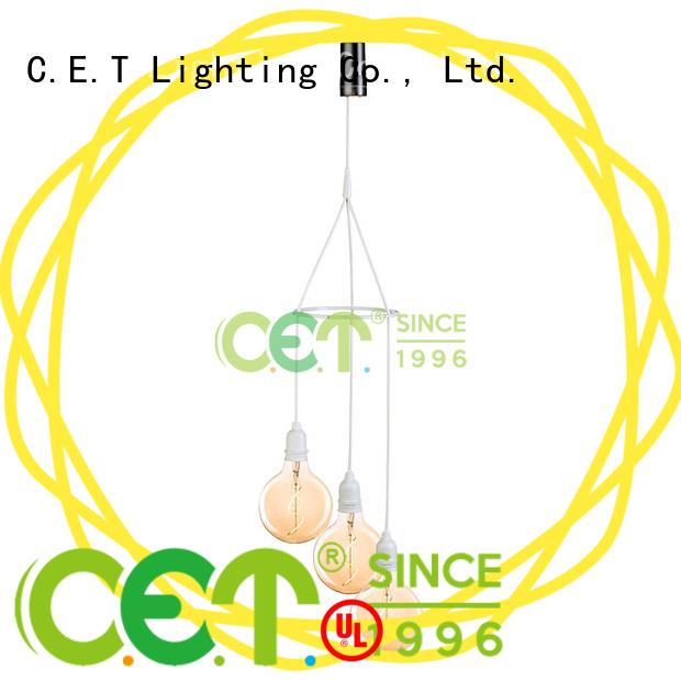 C.ET edison pendant light factory price for night party