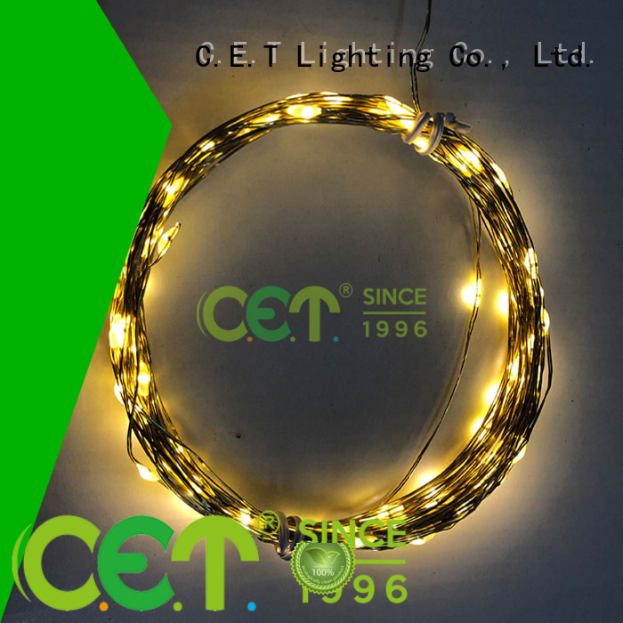led wire lights factory price for outdoor party