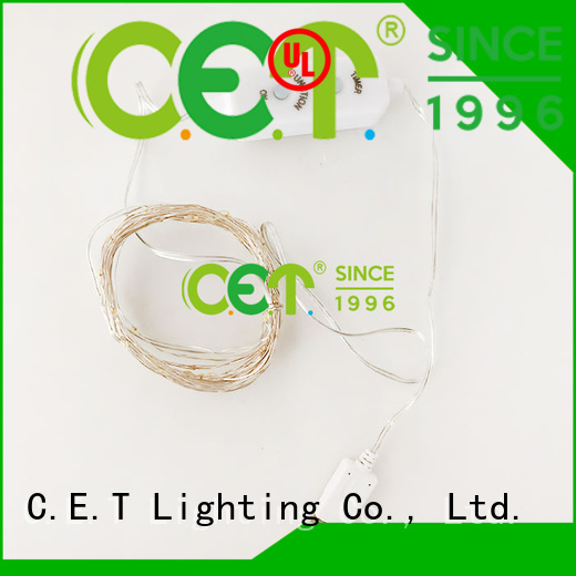 C.ET led wire lights factory price for outdoor party