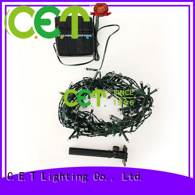 C.ET white string Christmas lights for party
